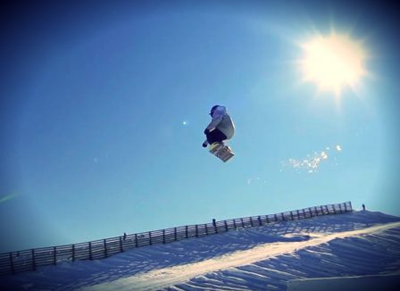 Snowpark Guide mit Filter