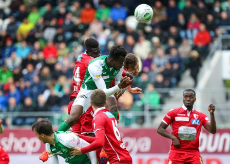 FUSSBALL, SUPER LEAGUE, NATONALLIGA A, MEISTERSCHAFT, SAISON 2018/19, FC SION, SION, FC. ST. GALLEN, FCSG,