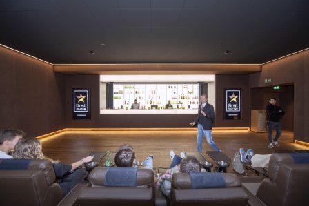 Kitag Cinedom in Abtwil zeigt die neuen SŠle mit VIP-Sitzen und 4DX Kino © Urs Bucher/TAGBLATT