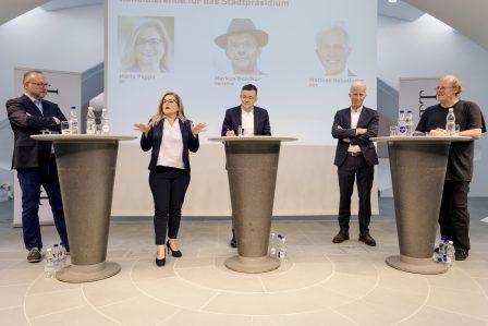Tagblatt-Podium Wahlen St. Galler Stadtrat und Stadtpräsidium.