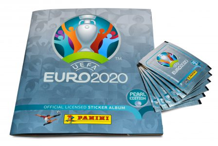 The UEFA EURO 2020TM Pearl Edition official sticker collection
