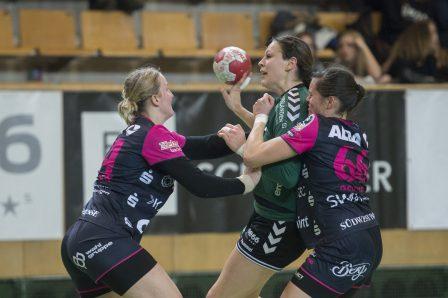 Handball Frauen Stadtwerk Cup 2016: Finalspiel TuS Metzingen (GER) gegen LC Brühl (SUI)
